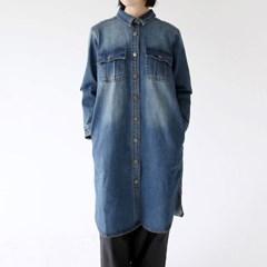 washing denim vintage dress_(1337941)