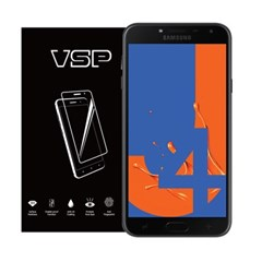 VSP 갤럭시J4 2018 2.5D 강화유리 액정필름 1매 블랙