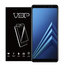 VSP 갤럭시A8플러스 2018 2.5D 강화유리 필름1매 블랙