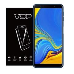 VSP 갤럭시A7 2018 2.5D 강화유리 액정필름 1매 블랙