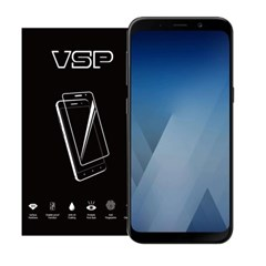 VSP 갤럭시A5 2018 2.5D 강화유리 액정필름 1매 블랙