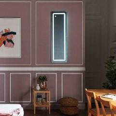 [Ldlab] 시크릿 LED 터치 사각 벽걸이 전신 거울_(1716293)