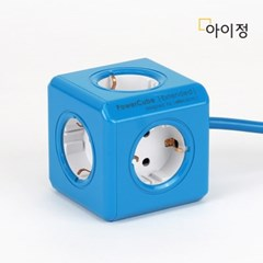 파워큐브 올컬러 5구 1.5M 블루 멀티탭 콘센트_(2546797)