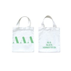 GREEN SIGNATURE MINI TOTE BAG