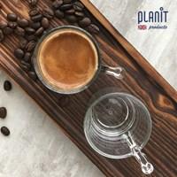 플랜잇 커피머신 유리샷잔 3oz 2개