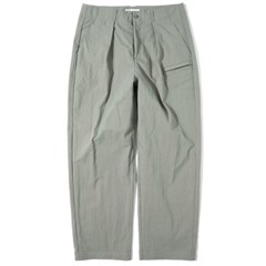Wide Tapered Pants Light Khaki