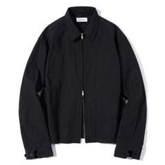 Zip-up Crew Jacket Black