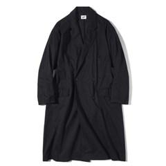 Oversized Washing Coat Black