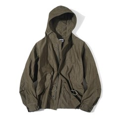 Explorer Hood Jacket Khaki