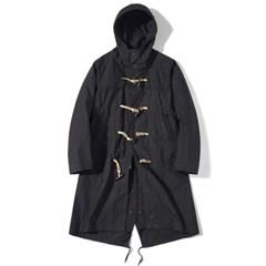 Fishtail Duffle Coat Black
