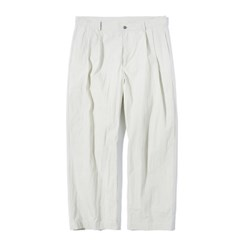 Fiber Two Tuck Pants L.Beige