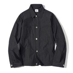 Fiber Peach Twill Jacket Black