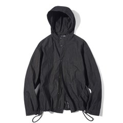 Fiber Hood Zip-Up jacket Black