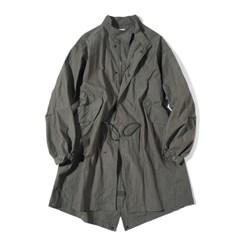 Fiber M-51 Fishtail Coat Moss Khaki