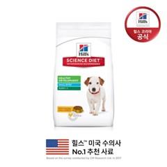 1678HG 강아지 스몰바이트 1세미만 15kg