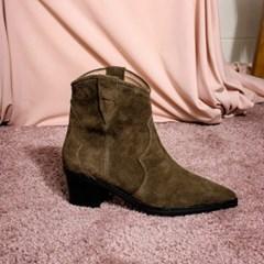 cowboy boots(khaki)
