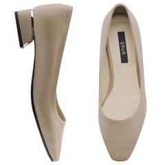 SPUR[스퍼] 펌프스  OF9035 Pink gold line heel 베이지