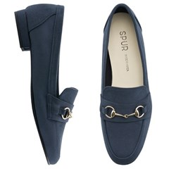 SPUR[스퍼] 로퍼 OF9029 Ring chain loafer 네이비