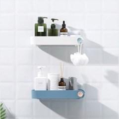 모던 파스텔 욕실정리함 1개(색상랜덤)