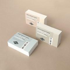 컬러 룰드 인덱스카드 100매 - 4x6