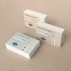 컬러 룰드 인덱스카드 100매 - 5x7