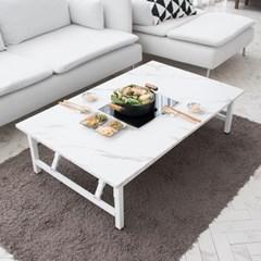 모리 인덕션 마블 접이식 테이블 /기능성 테이블(인덕션포함)