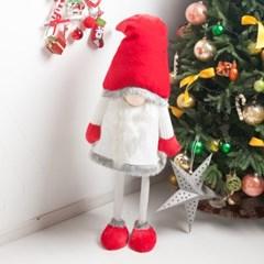 디럭스화이트망토산타 인형 160cm 크리스마스 TRDOLC_(1470599)