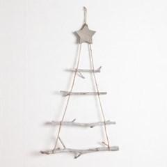 벽걸이우드 트리 60cm 크리스마스 장식 소품 TRNOES_(1470546)