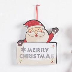 산타글자건전지 전구 25cm 크리스마스 장식 TRDELB_(1470432)