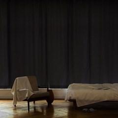 꿀잠을 부르는 암막 커튼 (140x230) 2장 (차콜그레이)