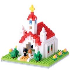 나노블럭 - 교회 CHURCH (440pcs) NBH-087_(1476950)
