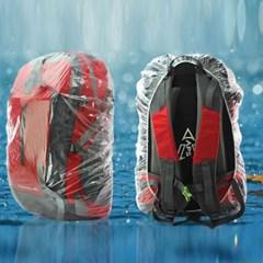 등산 가방 백 팩 배낭 레인 비닐 방수 커버 덮개 XL_(1332721)