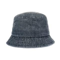 [플릭앤플록]HCU02.S챙 데님 힙합 벙거지 모자 버킷햇