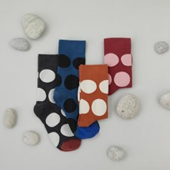 pebble dot socks 2pack