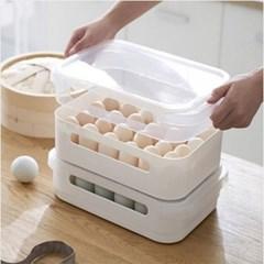 다용도 계란 대용량 수납함 1개