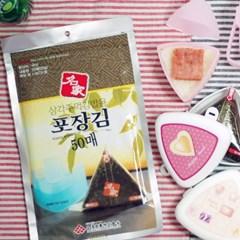 명가김 삼각김밥 만들기세트(김100+삼각틀1+도시락2)