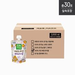 [자연원][실속포장] 100%국산배도라지즙 100ml x 30포입(벌크)