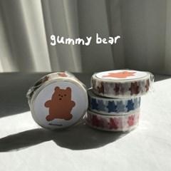 마스킹테이프 gummy bear