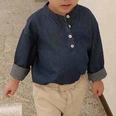 츄) 청 헨리넥 아동 셔츠