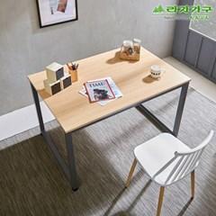 라자가구 오브 오크 B형 스틸 테이블 겸 책상_120x80 GM0185