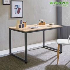 라자가구 오브 오크 B형 스틸 테이블 겸 책상_120x70 GM0184