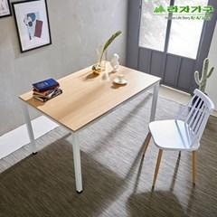 라자가구 오브 오크 A형 스틸 테이블 겸 책상_120x80 GM0183