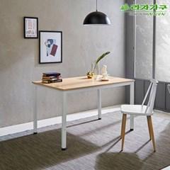 라자가구 오브 오크 A형 스틸 테이블 겸 책상_120x70 GM0182
