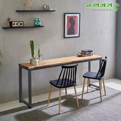 라자가구 오브 버니 사이드 1640B 슬림 테이블 GM0200