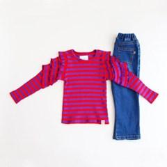 삼단 러플 티셔츠 IB3CL861G