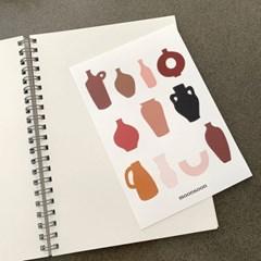 오브제 스티커 02 object stickers 02