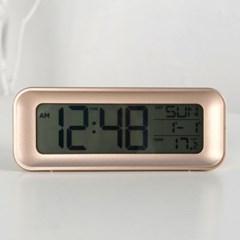 모던 심플 디지털 알람 탁상시계 (골드) 추카추카넷_(1222292)