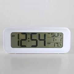 모던 심플 디지털 알람 탁상시계 (화이트) 추카추카넷_(1222291)