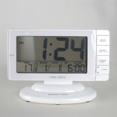 와일드스크린 디지털 알람 탁상시계 시계 추카추카넷_(1222290)