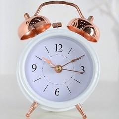 모던 큐티 알람 탁상시계 (화이트) 탁상 시계 추카_(1222281)